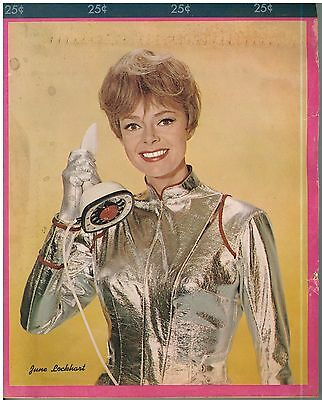1960s Lost in Space Writing Pad June Lockhart / Dr. Maureen Robinson Cover