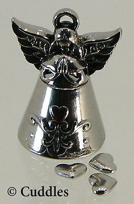 My Guardian Angel Prayer Box & Heart Charms Ganz Metal Religious Religious New S