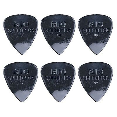 6 x Jim Dunlop M10 Speedpick Standard Guitar Picks *NEW* 0.71mm Medium