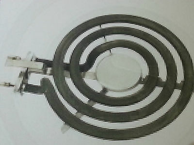"""St George 1250W 6"""" 1/4 Small Hot Plate Coil Plug In Type"""