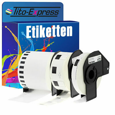 Etiketten für Brother P-Touch QL 1050 1060 500 550 570 650 700 710 720 N BW A NW