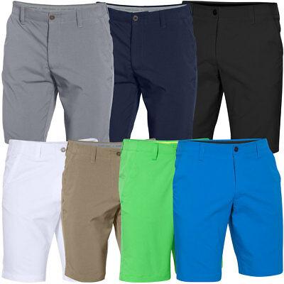 Under Armour 2017 Mens UA Matchplay Golf Shorts Flat Front Stretch