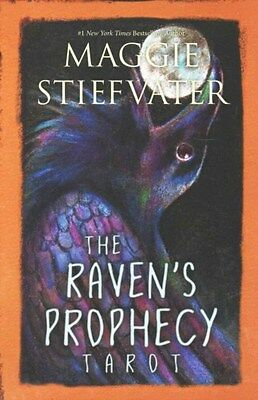 Raven's Prophecy Tarot 9780738747439 by Maggie Stiefvater, BRAND NEW FREE P&H