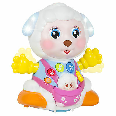 Kids Toy Talking Sheep With Playback Recording, Bump and Go Action and Music