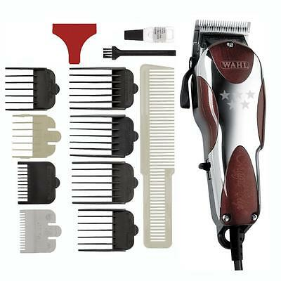 Tagliacapelli Wahl Magic Clip 5 Star Con Kit 8Rialzi+Pettine Made Usa Tosatrice