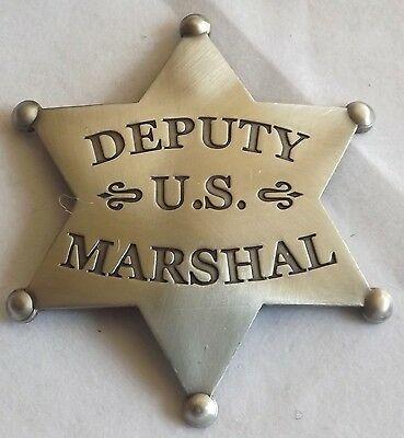 Ronald Reagan Law and Order- Authorized Replica Deputy US Marshal Badge Made USA
