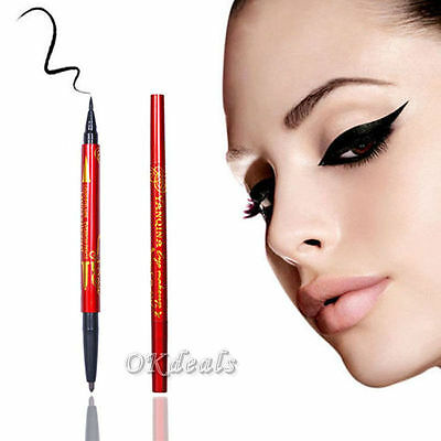 2 in 1 Waterproof Longlasting Eyeliner Eyebrow Pencil Cosmetic Makeup Tool HOT