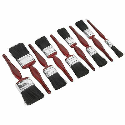 Sealey General Purpose Painting / Paint Work Brush Set 9pc - SPBS9