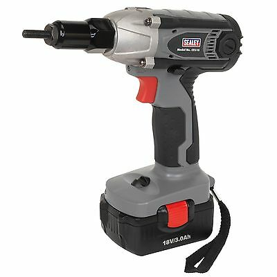 Sealey Cordless Nut Riveter/Impact Driver 18V 3Ah Lithium-ion 1hr Charge - CP315