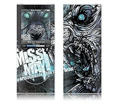 MusicSkins Sticker pour iPod Nano 4G Motif Miss May I Apologies [Noir, NEUF