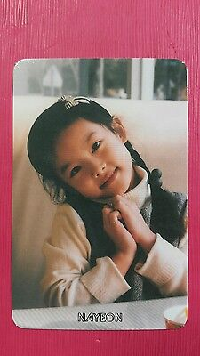 TWICE NAYEON #2 Official Photocard Orange Kid Ver. 1st Album The Story Begins 나연