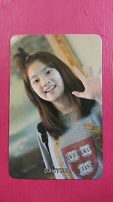 TWICE DAHYUN #1 Official PHOTOCARD Orange Kid Ver. 1st Album The Story Begins 다현
