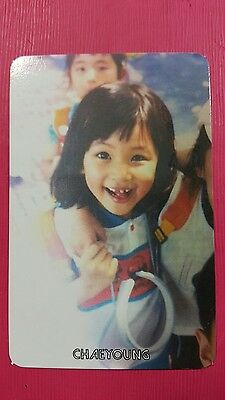 TWICE CHAEYOUNG #1 Official PHOTOCARD Orange Kid 1st Album The Story Begins 채영