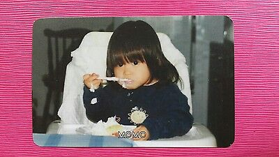TWICE MOMO #1 Official PHOTOCARD Orange Kid Ver. 1st Album The Story Begins 모모