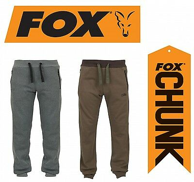 Fox Chunk Ribbed Jogger Hose - Angelhose, Jogginghose