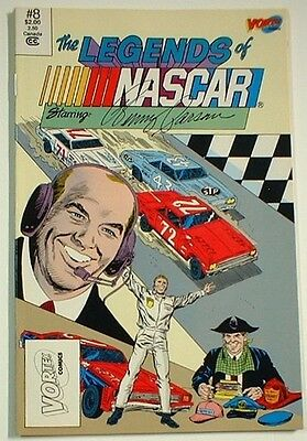 10 Legends Of Nascar Comics; Starring: Benny Parsons