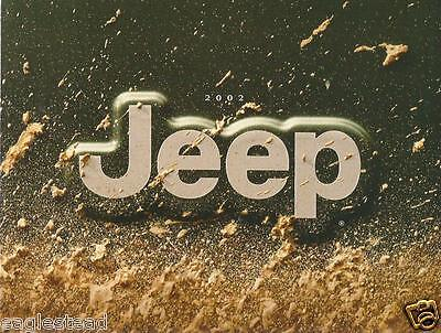 Truck Brochure - Jeep - Product Line Overview - 2002 (T1189)