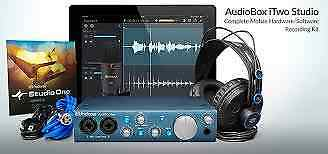 Presonus AudioBox iTwo STUDIO iPad recording interface
