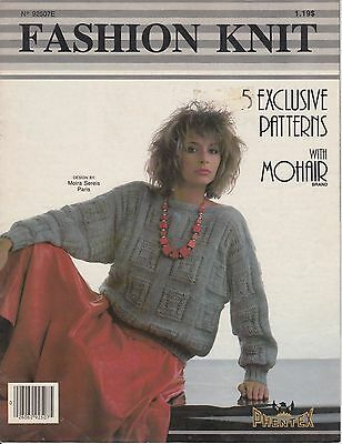 Phentex Fashion Knit women's sweater knitting patterns - 5 designs