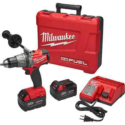 New Milwaukee 2704-22 M18 Fuel 18 Volt Cordless Hammer Drill Driver Sale Price