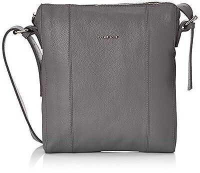 Paquetage Cross Over Cuir, Sac bandoulière - Gris (Anthracite 011), NEUF