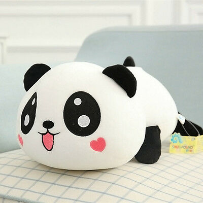 "8"" Cute Plush Doll Toy Stuffed Animal Panda Pillow Quality Bolster 20cm"