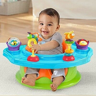 Summer Infant 3 Stage Super Seat Rehausseur [Multi] - Sock Ons in NEUF