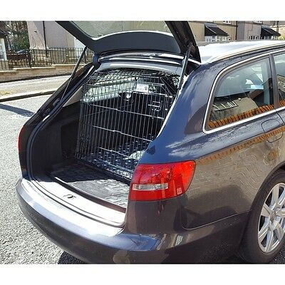 Pet World  DOG TRAVEL CAGE PUPPY TRAVEL SLOPING CRATE PET for AUDI A6 AVANT