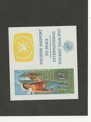 Indonesia, Postage Stamp, #726a Mint NH Sheet, 1967