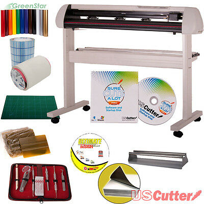"53"" Vinyl Cutter BUNDLE - Sign Cutting Machine w/SCAL Pro -Design & Cut Software"