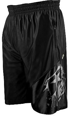 Planet Eclipse Basketball Shorts Black