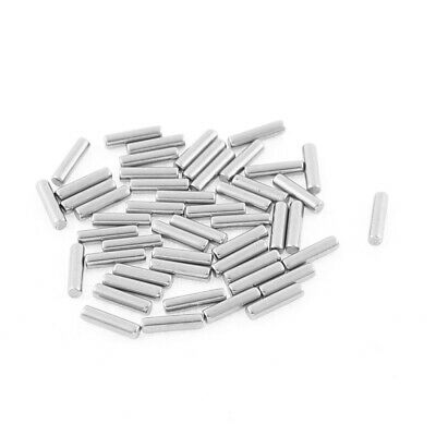 M1.5x6mm Stainless Steel Straight Retaining Dowel Pins Rod Fasten Elements 50pcs