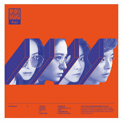 f(x) 4 WALLS 4th Album CD+Photo Book+Photocard Brand New Member Cover Selectable