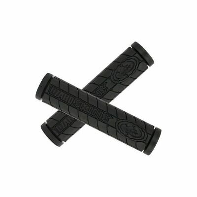 Lizard Skins Logo Single Compound Handlebar Grips - Black - 130mm
