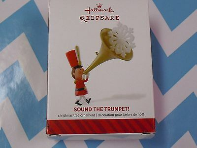 2014 Hallmark Ornament Sound the Trumpet   NIB
