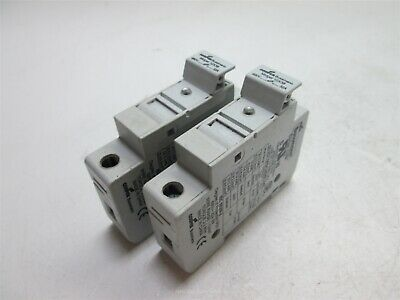 Lot of 2 Cooper Bussmann Midget 10x38 Fuse Holders, Rated: 690V 32A