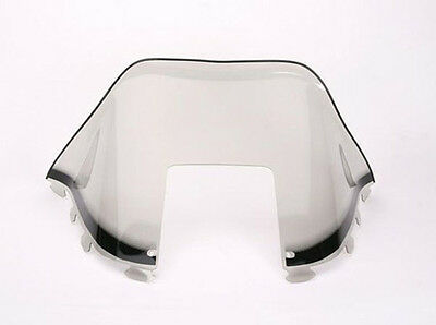 Sno-Stuff Windshield Polaris TRAN SPORT  '96-98 -BLK GFX ON SMOKE MED 12""