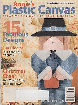 Annie's Plastic Canvas magazine November 2005 - 15 projects