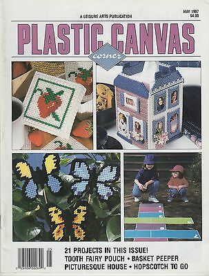 Plastic Canvas Corner magazine May 1997 - 21 projects