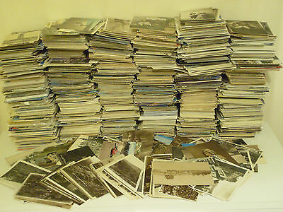 OLD postcards Collection UK/FOREIGN TOPO b/w Colour JOB LOT Mixed Assorted Eras
