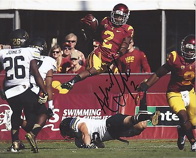 USC Trojans ADOREE JACKSON Signed 8x10 Photo PROOF