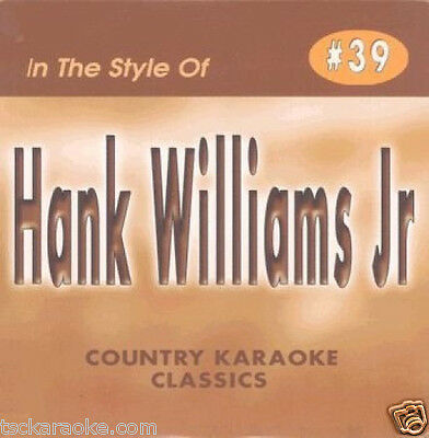 Hank Williams Jr  Karaoke CDG FAMILY TRADITION A Country Boy Can Survive 17 Song