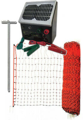 50m X 112cm POULTRY NETTING Electric Fence ENERGISER EARTH STAKE