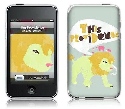 MusicSkins Sticker pour iPod touch 2G/3G Motif This Providence Lion NEUF