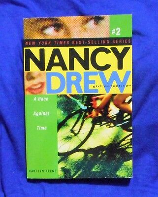 Nancy Drew Girl Detective #2 - A Race Against Time LOCAL FREEPOST ch sc 1015