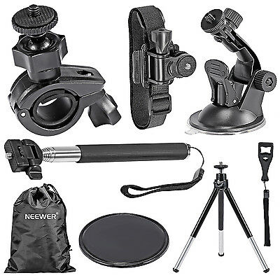 7-in-1 Outdoor Kit Handheld Monopod Tripod for GoPro Sony Action Video Camera