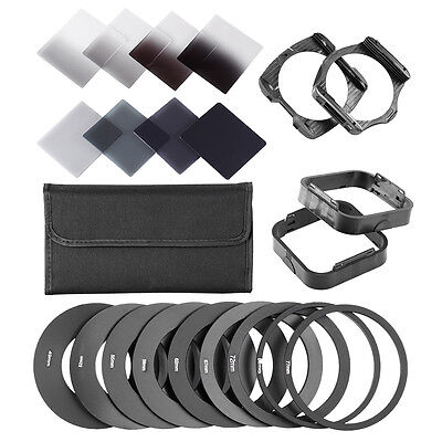 Neewer Neutral Density ND Filter ND2 ND4 ND8 ND16 Kit for Cokin P Series