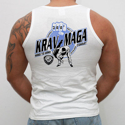 Vest KRAV MAGA. Ideal for Gym,Training,Boxing,Fighters,Sport,MMA,Casual wears