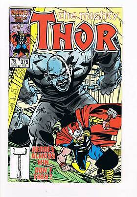 Thor # 376 Heroes Always Win... Don't They? grade - 9.0 scarce book !