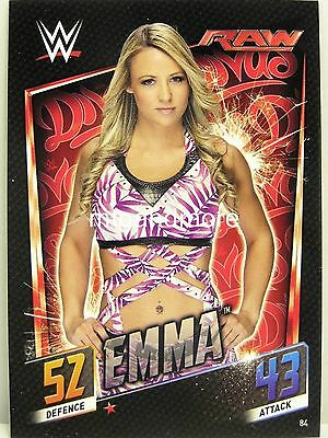 Slam Attax Then Now Forever - #084 Emma